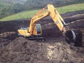 VENDO EXCAVADORA HYUNDAI R210LC-9 AÑO 2010
