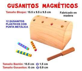 Gusanitos magnéticos