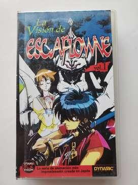 Vhs la visión de escaflowne vol 1 otaku vision