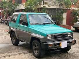 Se vende!! Carro  Campero Daihatsu Feroza F300