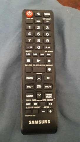 Control Remoto Equipo Sonido Samsung