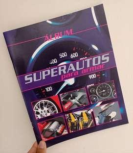 Album Super Autos para Armar Vacio