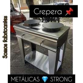 Crepera  ( somos fabricantes METALICAS STRONG)