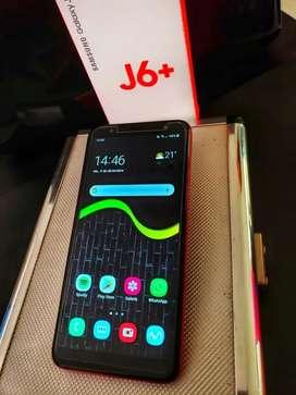 Samsung j6 plus nuevito versión rubí