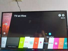 smart tv  FULL HD  marca LG de 43 pulgadas