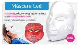 Mascara Led Fototerapia Cromoterapia Facial Rejuvenecimiento