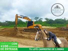 Crédito Directo para su Quinta vacacional o casa de campo en Manabí SD2