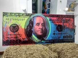 Cuadros de dólar