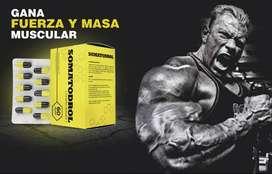 Somatodrol / Original / Testosterona / Musculatura / Fuerza / Suplemento Gymnasio
