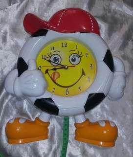 Reloj balón Niños No Funciona Mide 31 Cm Largo