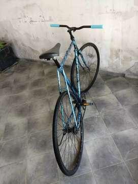 Bicicleta fixie Restaurada a nueva  ANDANDO Freno contrapedal