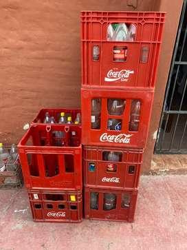 Vendo cajones Coca Cola