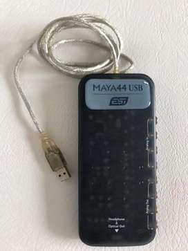 MARAVILLOSA Tarjeta de Audio Maya44 Usb