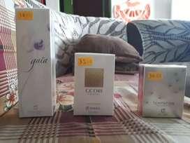 Perfume yambal a 25 cada uno