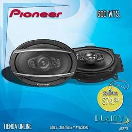 Parlante Pioneer Para Carro 600 Wts 6x9