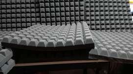 Espumas acústicas profesionales