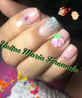 Promociones de uñas acrílicas uñas de gel pedicure.manicure permanente diseños en 3D Pestañas pigmentación de cejas