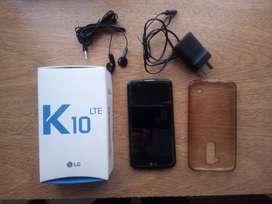 Celular LG K10 Lite... impecable...