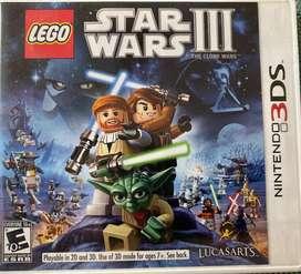 Juego Original Lego Star Wars III