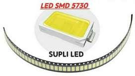 10 Led Smd 5730 Superficie 3v Blanco Brillo