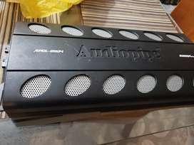Planta car audio audiopipe y sub woofer con cajon