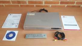 Grabador y Reproductor de DVD marca LG, Modero DR177, como nuevo