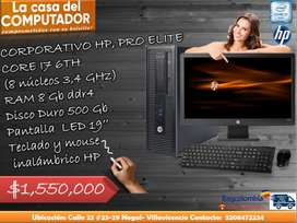 EQUIPO CORPORATIVO HP CORE I7 SEXTA G