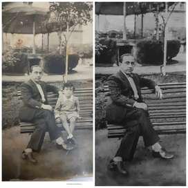 Restauración digital de fotos antiguas