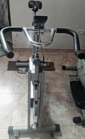 Bicicleta fija Marca Fitage GE 602