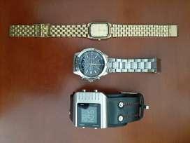 vendo mis relojes por viaje