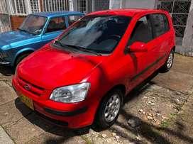 Automóvil excelente estado estético y mecánico Hyundai Getz 2003 Único Dueño llantas nuevas