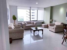 Suite de alquiler en Torres Colón, amoblada, 90 m2.
