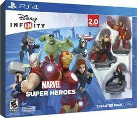 Video Juego Disney Infinity Marvel Ps4