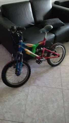 Vendo bueno bici niñ@ nueva.