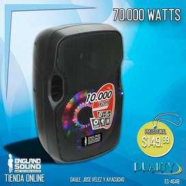 Caja Amplificada England Sound 70.000 Watts