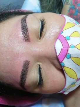 Ofrezco mis servicios de micropigmentación facial