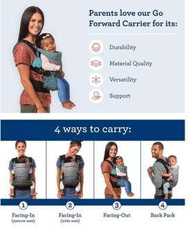 Canguro, portabebe, porteo 4 en 1 marca INFANTINO -Go Forward - ergonómico