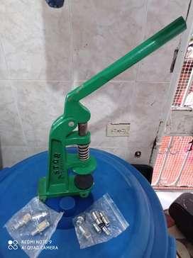 Máquina Troqueladora Prenda Maual, Broches, Taches, Botones
