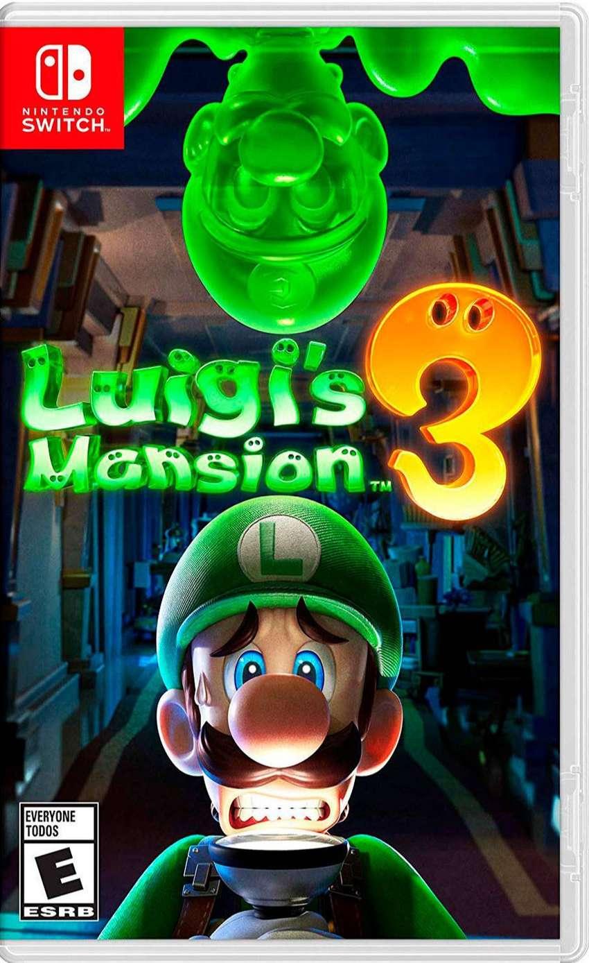 Luigis Mansion 3 Nintendo Switch 0