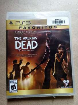 The walking deat (ps3