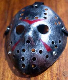 Máscara De Jason Viernes 13 Plateado Oscuro con ENVÍO GRATIS y REGALO