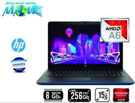 Portátil Hp Laptop 15 - Db0032la Amd A6 8gb 256g Dss