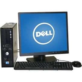 computadora de escritorio marca Dell
