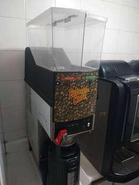 MAQUINA DE GOTE CAFE PROFESIONAL DOBLE TOLVA GRANO