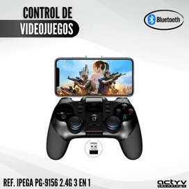 Control Bluetooth Videojuegos Ipega-9156