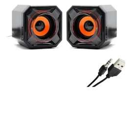 Parlante Para Pc Wit Pm-210 Extreme 2.0 3.5mm / UsbParlante Para Pc Wit Pm-210 Extreme 2.0 3.5mm / Usb