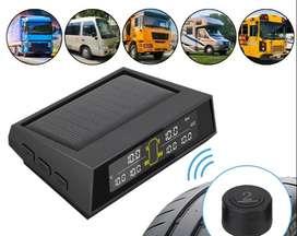 Sistema de monitoreo de presión de neumáticos para Camion Turbo 6 llantas Digital solar Instalación en 10 Min