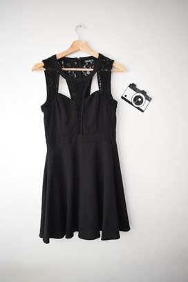 Vestido Negro de Coctel