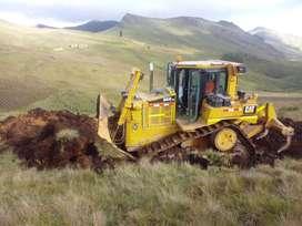 Tractores oruga CAT en alquiler