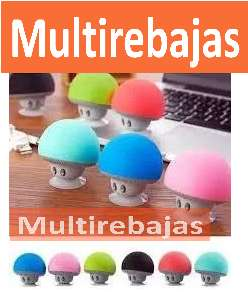 Excelente Parlante Bluetooth Portatil Mini Hongo